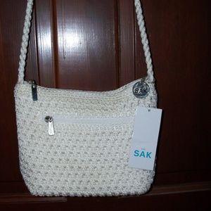 Sak white crossbody bag
